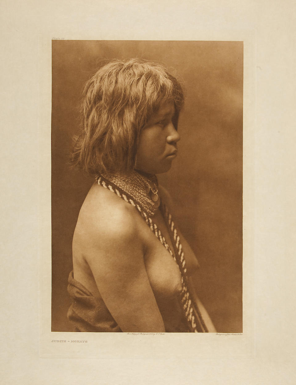 Edward S. Curtis (American, 1868-1952); Selected Images, from The North American Indian;