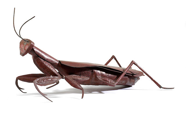 Ken Kalman (American, born 1955) Preying Mantis, 2008 27 1/2 x 53 1/2 x 22in