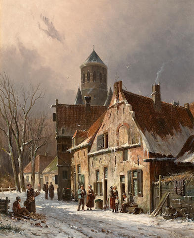 Everson - Dutch Street Scene