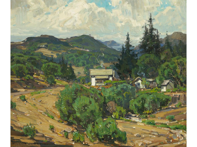 William Wendt Houses in the mountains (resort)