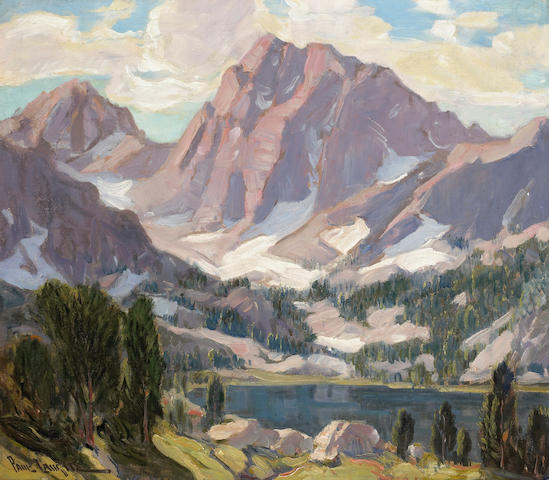 (n/a) Paul Lauritz (Norwegian/American, 1889-1975) High Sierra lake 28 x 32 1/4