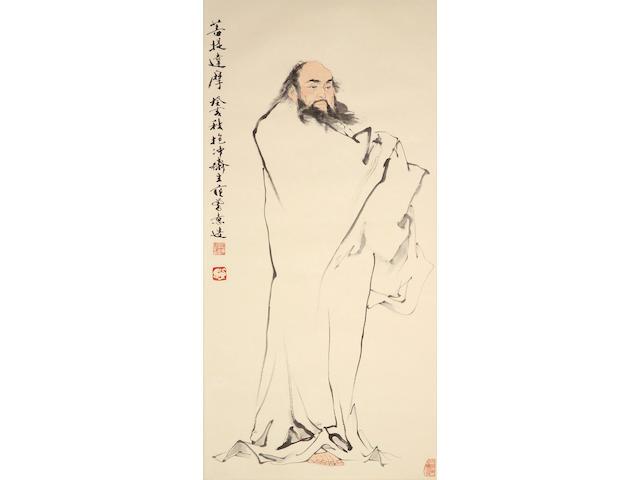 Fan Zeng (b.1938) Bodhidharma