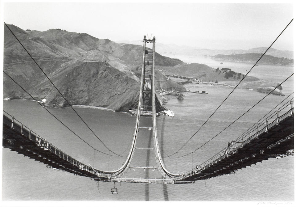 Peter Stackpole (American, 1913-1997); Construction of the Bay Bridge; (4)