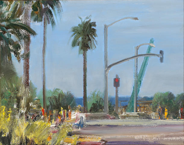 Larry Cohen, Top of the California Incline, 2005, oil on canvas