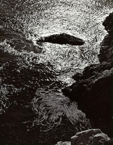 Edward Weston photograph: China Cove, Pt. Lobos