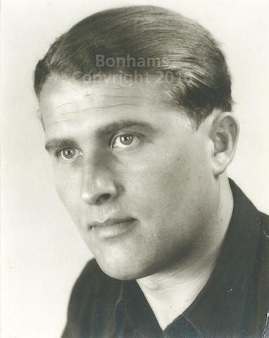 PORTRAIT OF VON BRAUN.