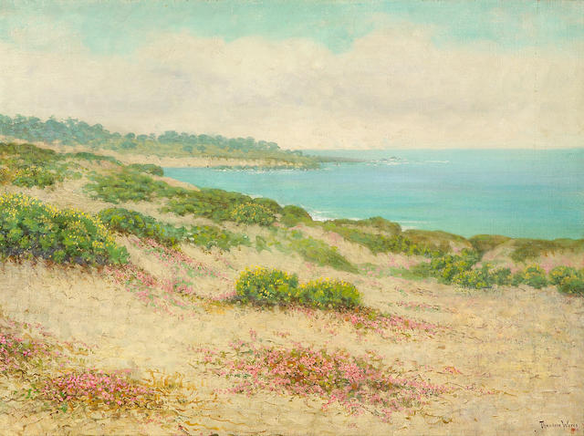 Theodore Wores (1859-1939) Cypress Point, Monterey, California 36 x 48in