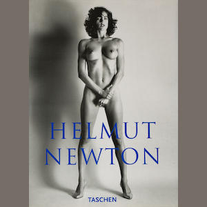 Helmut Newton limited edition book SUMO and stand by Taschen;
