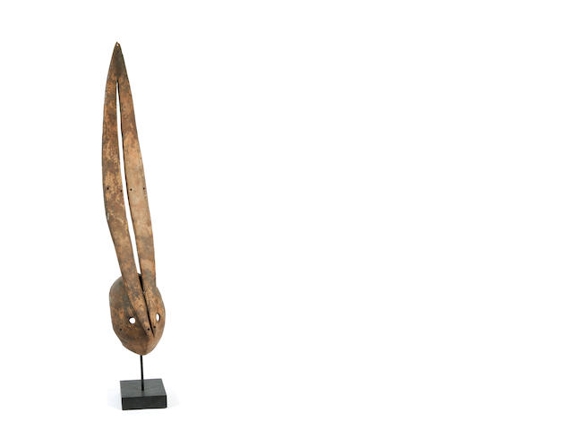 An African Mossi antelope mask