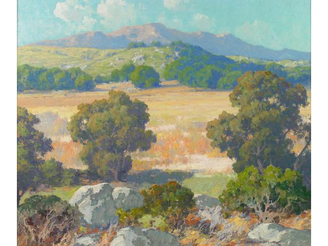 Maurice Braun (American, 1877-1941) Hubbard's Grove 25 x 30in