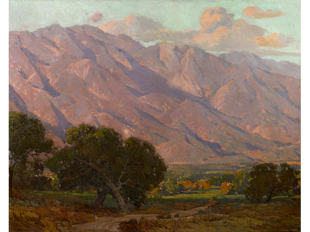 (n/a) Edgar Payne (1883-1947) Hills at Altadena 36 x 45in