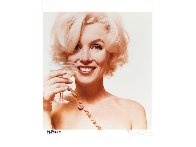 Bert Stern (American, born 1930); Marilyn Monroe-The Last Sitting;