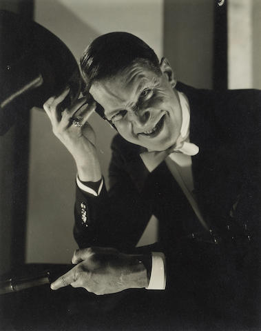 Edward Steichen (American, 1879-1973); Maurice Chevalier;
