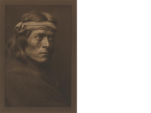 Edward Curtis Zuni Governor, 1905 Platinum/palladium