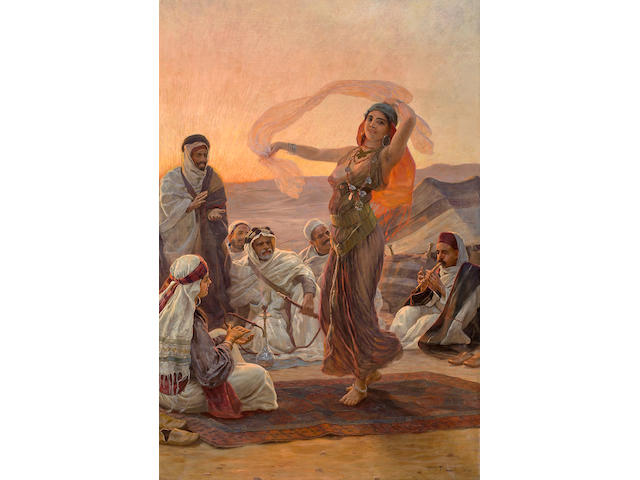 Otto Pilny (Swiss, 1866-1936) Dancer in Cairo