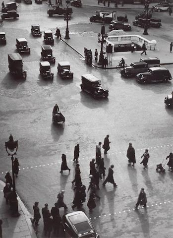 André Kertész (Hungarian/American, 1894-1985); Subway Stop, Paris;
