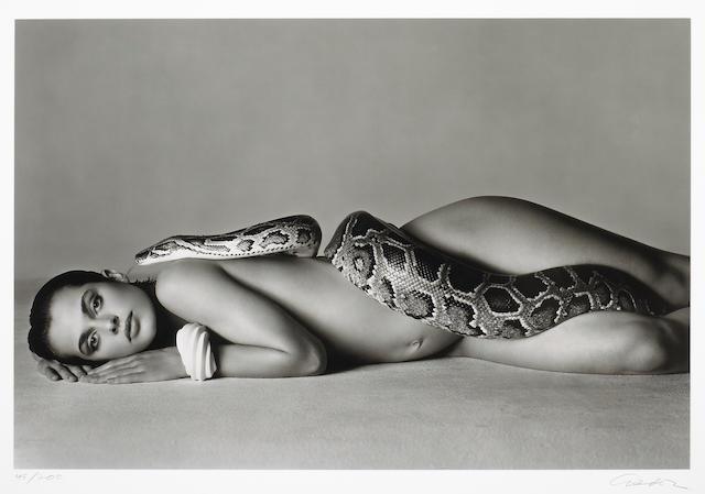Richard Avedon (American, 1923-2004); Nastassja Kinski and the Serpent, Los Angeles, California;