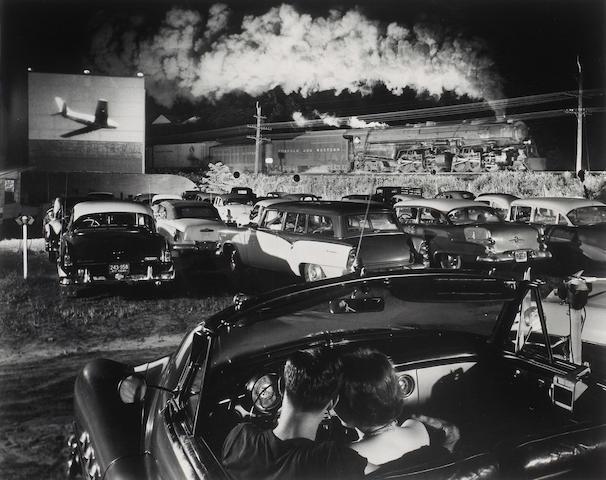 O. Winston Link (American, 1914-2000); Hotshot, Eastbound, Iaeger, West Virginia;