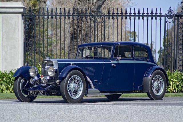 1934 Bentley 1 1/2 Liter MkII Sport Saloon  Chassis no. K4/513/L