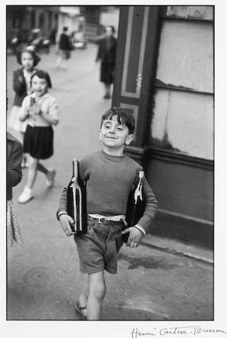 (n/a) Henri Cartier-Bresson (French, 1908-2004); Rue Mouffetard;