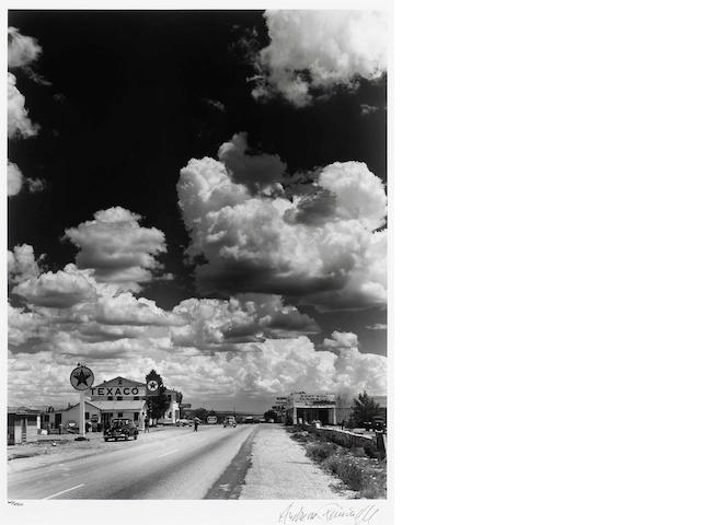 Andreas Feininger, Texaco, Route 66 1955 17 x 13 x ed 250 Prov: Apex Fine Art Los Angeles