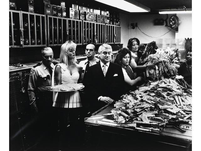 Helmut Newton (German, 1920-2004); Cash Room at Caesars Palace, Las Vegas;