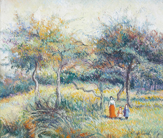 Hughes Cluade Pissarro, o/c