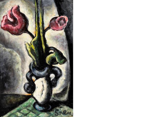Nils Gren (American, 1893-1940) Tulips, c. 1935 15 x 9 1/2in