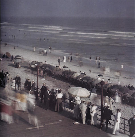 Karl Struss (American, 1886-1981); Karl Struss, Coney Island Boardwalk, 1910/1981