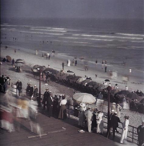 Karl Struss (American, 1886-1981); Coney Island Boardwalk, from Karl Struss: A Portfolio, 1909-29;