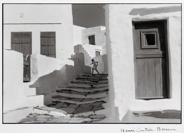 Henri Cartier-Bresson Siphnos, Greece, Gelatin Silver Print