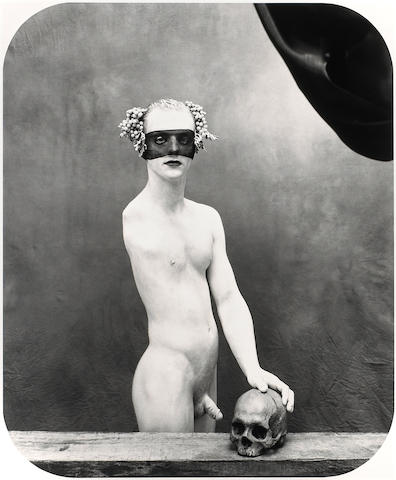 Joel-Peter Witkin (American, born 1939); Portrait as a Vanité, New Mexico;