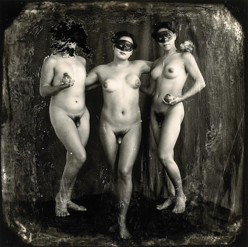 Joel-Peter Witkin (American, born 1939); The Graces, Los Angeles;