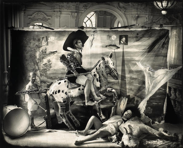Joel-Peter Witkin (American, born 1939); The Fool, Budapest;