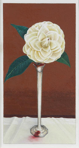 Henry Hopkins (American, 1928-2009) Cut Flower, 2002 14 1/4 x 10 1/4in