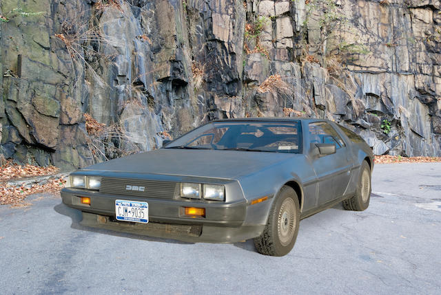 Uprated to Twin-turbocharged specification, under 33,000 miles from new,1983 2.9-litre De Lorean DMC 12 Two-Door Coupé  Chassis no. SCEDT26T7DD015315