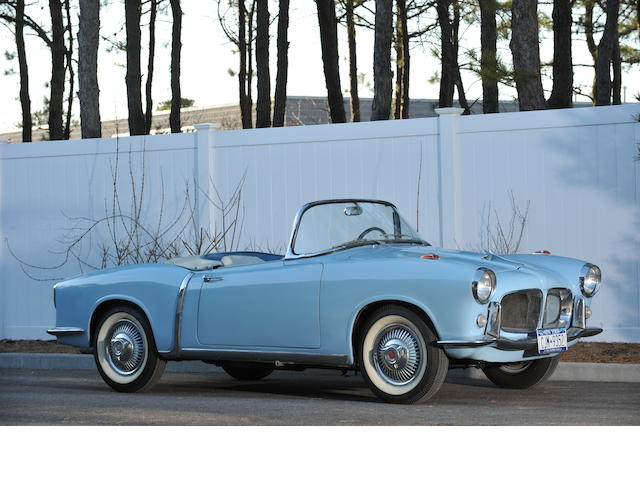 1958 FIAT 1200TV  Chassis no. 103G.115 001850
