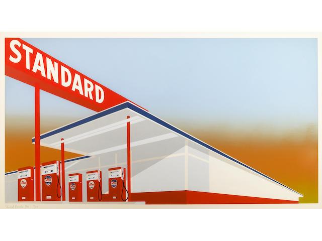 Edward Ruscha (American, born 1937); Standard Station;