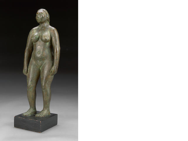 Jose Luis Cuevas, Untitled, 1971, bronze