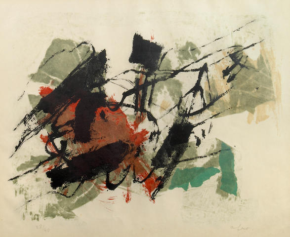 Afro (Italian, 1912-1976); Untitled (Composition);