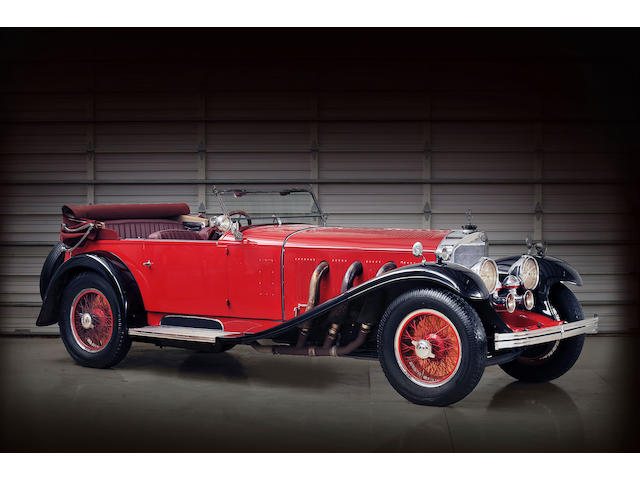 In the present family ownership since 1955, five owners from new,1930 Mercedes-Benz 38/250 7.1 Liter Supercharged 'SS' Sports Tourer  Chassis no. 36257 Engine no. 77636