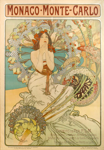 Alphonse Mucha (Czech, 1860-1939); Chocolat Ideal;