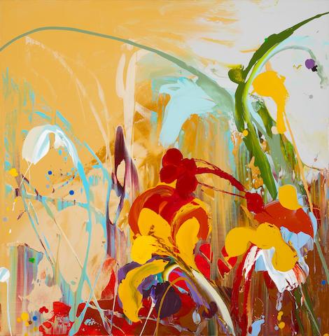 Daniel Phill (American, born 1955) Agrimony, 2006 36 x 36in