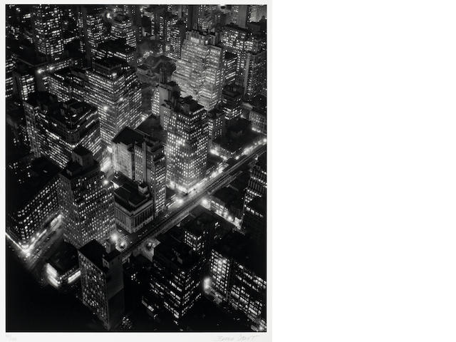 berenice Abbott, new york at night