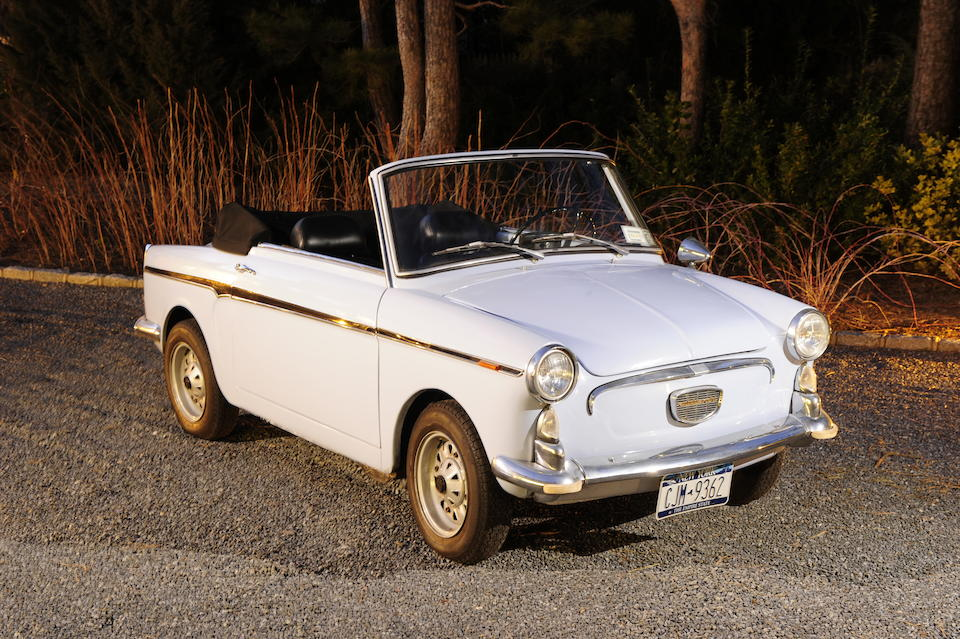 1965 Autobianchi Bianchina Cabriolet  Chassis no. 110FB 006278