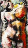 Jim Morphesis (American, born 1948) Navigator, 1989 76 x 45in