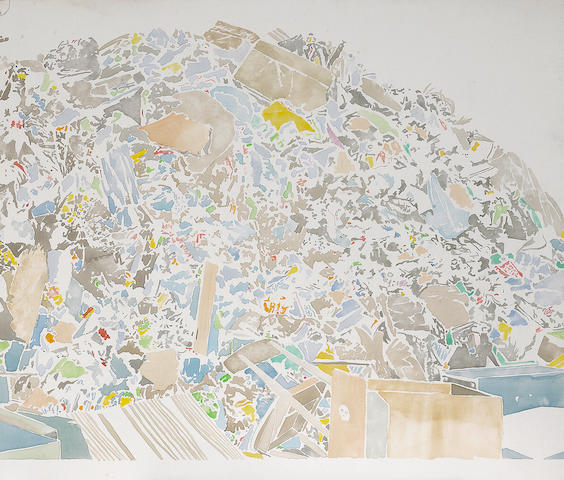 David Korty (American, born 1971) Untitled (Dump), 1999 19 x 22in