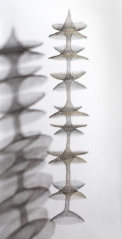 Ruth Asawa (American, born 1926) Untitled, c. 1960 72 x 14 x 14in