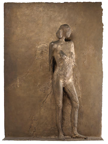 Manuel Neri (American, born 1930) Mujer Pegada #3, 1985 76 x 55 x 12in
