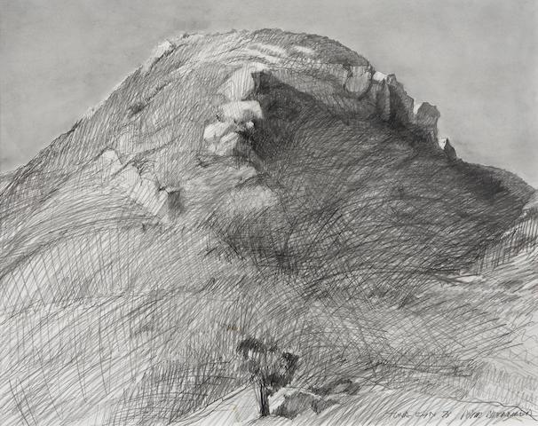 Peter Alexander (American, born 1939) Tuna Canyon, 1973 23 x 29in